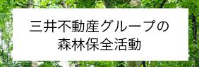 三井不動産グループの森林保全活動